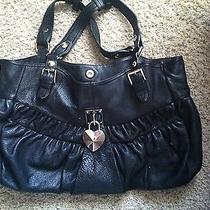 Betsey Johnson Black Hobo Bag Photo