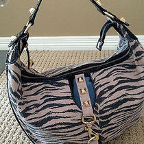 Betsey Johnson Black Purse Zebra Used Once Excellent Conditionfree Betsey Gift Photo