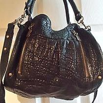 Betsey Johnson Black Satchel Handbag  Photo