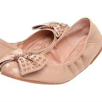 Betsey Johnson Blush Miiliee Leather Ballet Flats Size 8 Photo