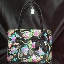 Betsey Johnson Bow Dangles Satchel Bm12525 - Msrp 98 - Nwt Photo