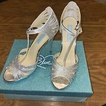 Betsey Johnson Bridal Heel Sz 8.5 Photo