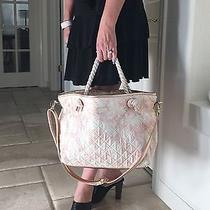 Betsey Johnson Callie Tote Blush Quilted Satchel Bag Purse Nwt Travel Weekend Photo
