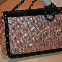 Betsey Johnson Cross Body High Frequency Blush Purse Nwt  Photo