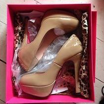 Betsey Johnson  Dita Blush Shoes  Size 8 Photo