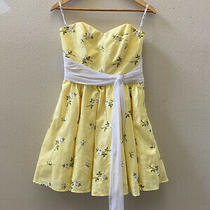 Betsey Johnson Dress Prom Size 8 Yellow Photo