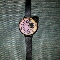 Betsey Johnson Fawn Pug Watch Photo