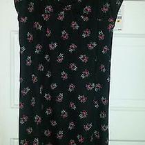 Betsey Johnson Floral Print Nightie Size Small Photo