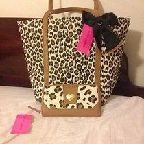Betsey Johnson Handbag W/ Wallet Photo