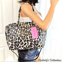 Betsey Johnson Hidden Treasure 2 Bags in 1 Satchel Tote Bag Clutch Purse Set Nwt Photo