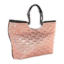 Betsey Johnson High Sequencey Tote Blush Pink  Nwt  Free Us Shipping Photo