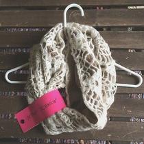Betsey Johnson Lacey Knit Scarf  Photo