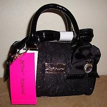 Betsey Johnson Ladies' Black Handbags Crossbody strappurses.women's Accessories Photo