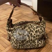 Betsey Johnson Leopard Corduroy Hobo Bag Photo