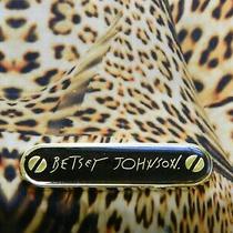 Betsey Johnson Leopard Print Wallet  Zip Around Style Photo