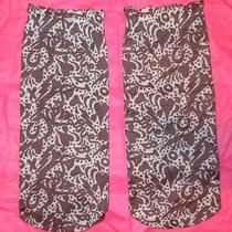 Betsey Johnson Lightning Bolts Xox  Love Stocking Socks Ankle Black/white 9-11 Photo