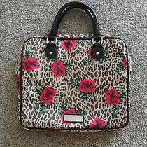 Betsey Johnson Natural Leopard Print-Zippered Laptop/computer/bag Photo
