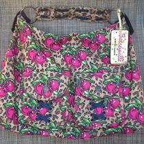 Betsey Johnson Nylon Cherry Print Hobo Bag Photo