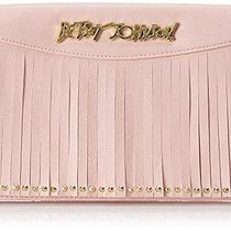 Betsey Johnson on the Fringe on a String Wallet Blush One Size Photo
