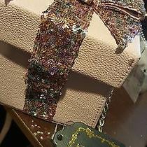Betsey Johnson Pink Blush Women's Gift Box Messenger/crossbody Purse Photo