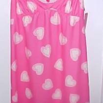 Betsey Johnson Pinklu Baby Doll Nightie Sz M New 65 Lovely Hearts Photo