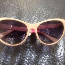 Betsey Johnson Princess Blush Cat Eye  Sunglasses Nwt Photo