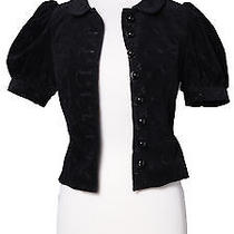 Betsey Johnson Puff Sleeve Jacket Photo