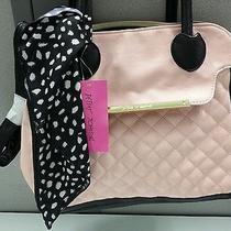 Betsey Johnson 'Quilty as Charged' Pink/blush Dome Satchel Br22400 Photo