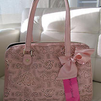 Betsey Johnson Racey Lacy Blush Satchel Nwt  Photo