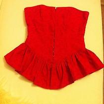Betsey Johnson Red Corset  Photo