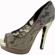 Betsey Johnson Samantaa Womens Platform Pump Shoes Photo