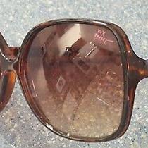 Betsey Johnson Tortoise Brown Gold Studded Designer Sunglasses  Photo