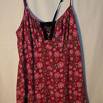 Betsey Johnson Women's Purple Floral Nightie---Small Photo