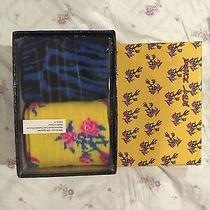 Betsey Johnson Women's Socks 2 Pairs Size 9-11 With Gift Box Photo