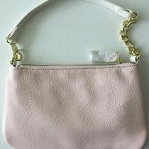 Betsey Johnson Wristlet Wallet Clutch Blush Pink Bone Flat Cosmetic Bag New E Photo