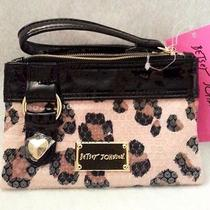 Betsey Johnson Wristletsvarious Colors & Stylessequin & Pvcnew/nwt Photo