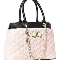 Betsy Johnson Be My Bow Blush Shopper Bag Photo