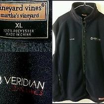 Better Off Ted Seasn 1 Crew Veridian Dynamics Vineyard Vines Fleece Harbor Vest  Photo
