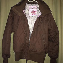 Betty Rides Quilted Hooded Jacket Elements Collection Size Xs Photo