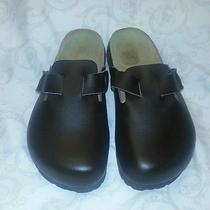 Betula Birkenstock 36 Brown Leather Never Worn Photo