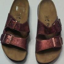 Betula Burgundy Metallic Birkenstock Photo