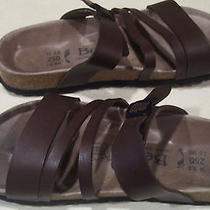 Betula by Birkenstock...brown Sandals...ladies Size 8 Narrow...gently Worn Photo