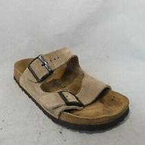 Betula by Birkenstock Brown Suede Leather Slide Sandals Sz 39 Eu / Men 6 Wmn 8 Photo