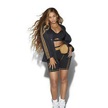 Beyonce Ivy Park 3 Stripes Suit Jacket Size Small Black Ready to Ship Photo