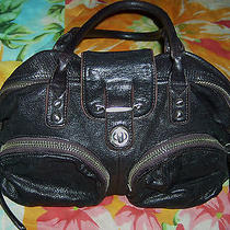 Bianca Botkier Black Shoulder Bag Handbag Purse  Photo