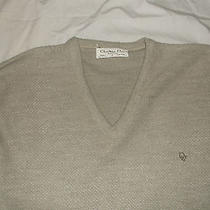 Biege Christian Dior v-Neck Sweater Photo