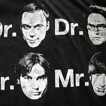 Big Bang Theory 3 Doctors 1 Mr. Tv Show Promo T Shirt Size M Funny Retro 12.99 Photo