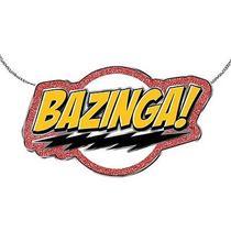Big Bang Theory Bazinga Flash Necklace Photo