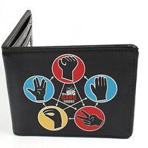 Big Bang Theory Cbs Comedy Tv Show - Hand Symbols Bi-Fold Wallet Photo