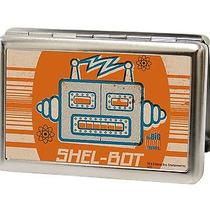 Big Bang Theory Licensed Metal Hinge Id Case - Shel-Bot Sheldon Photo